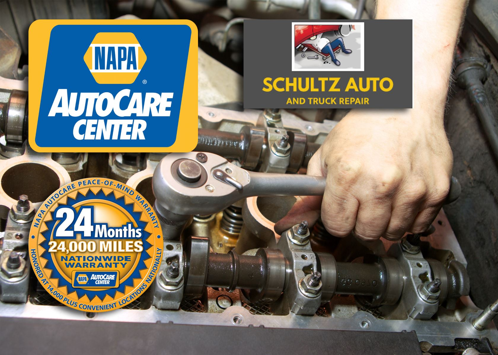 Schultz Auto and Truck Repair is Proud to Be a Certified NAPA AutoCare Center