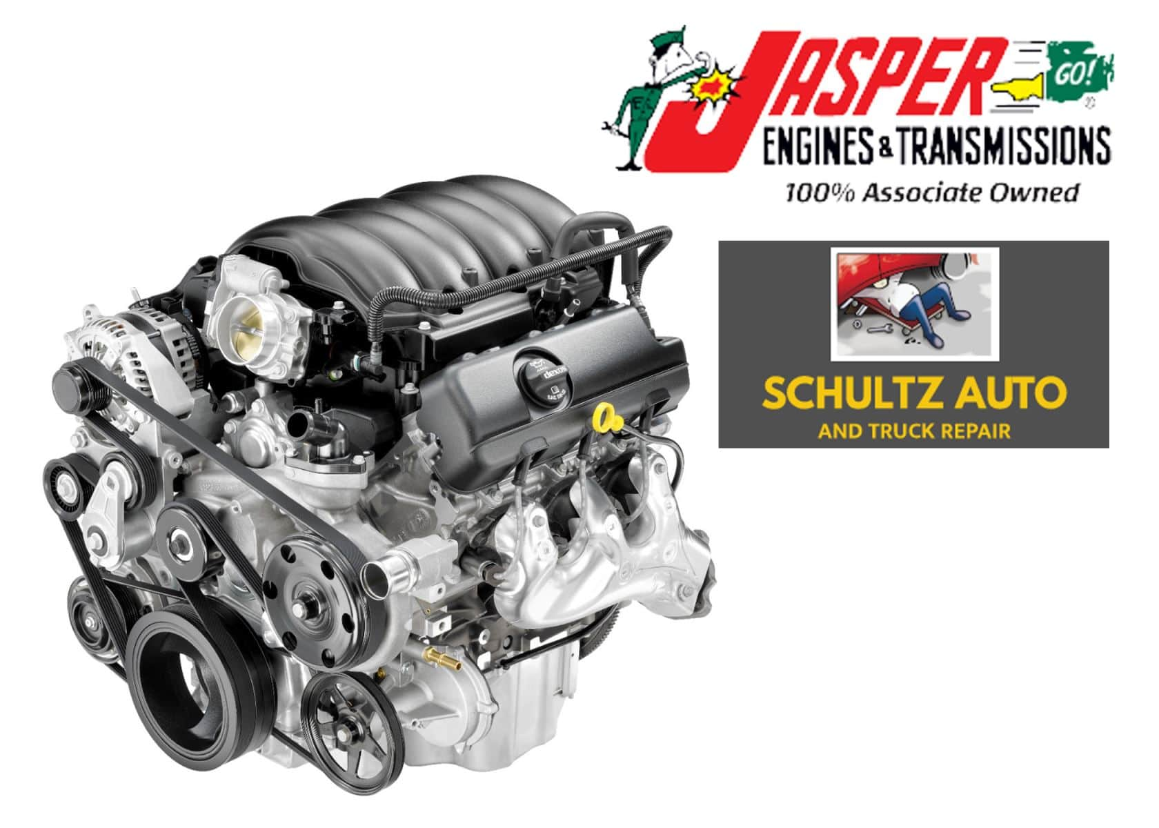Schultz Auto and Truck Repair is an Exclusive Provider of Jasper Engines & Transmissions
